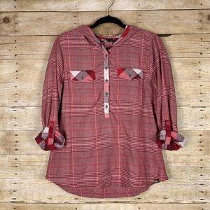 prAna | Hooded shirt